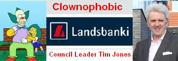 Clownophobic Tim Jones