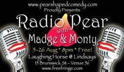 Radio Pear with Madge & Monty 2006